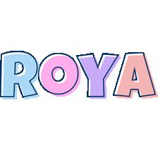 Roya pastel logo