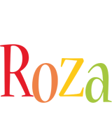 Roza birthday logo