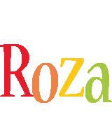 Roza birthday logo