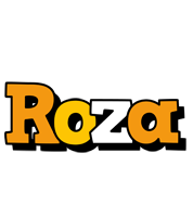 Roza cartoon logo