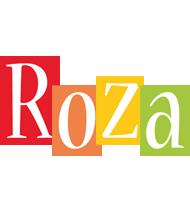 Roza colors logo
