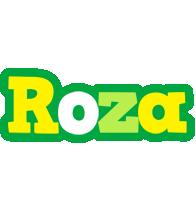 Roza soccer logo
