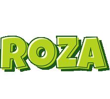 Roza summer logo