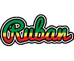 Ruban african logo