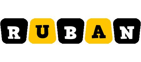 Ruban boots logo