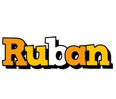 Ruban cartoon logo