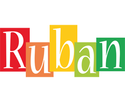 Ruban colors logo