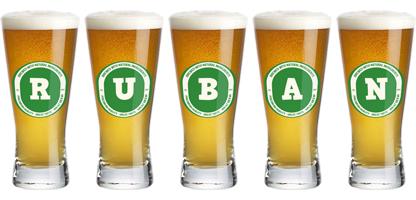 Ruban lager logo