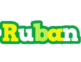 Ruban soccer logo
