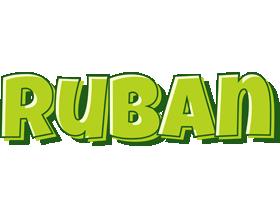 Ruban summer logo