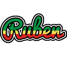 Ruben african logo