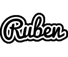 Ruben chess logo
