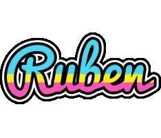 Ruben circus logo