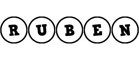 Ruben handy logo