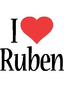 Ruben i-love logo