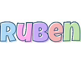 Ruben pastel logo