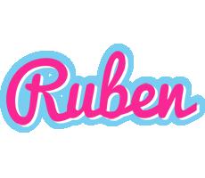Ruben popstar logo