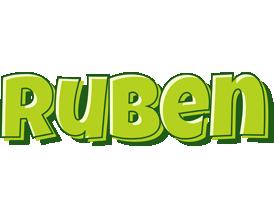 Ruben summer logo