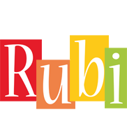 Rubi colors logo