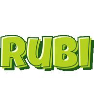 Rubi summer logo
