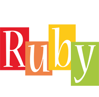 Ruby colors logo