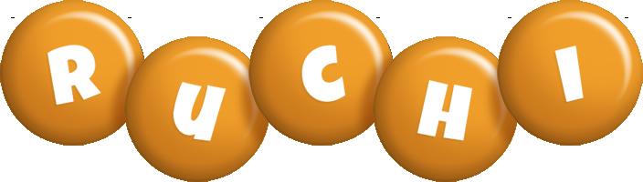 Ruchi candy-orange logo