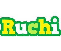 Ruchi soccer logo