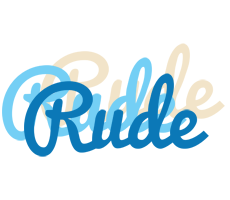Rude breeze logo
