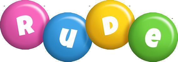 Rude candy logo