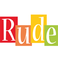 Rude colors logo