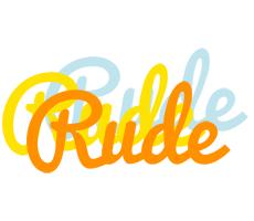 Rude energy logo