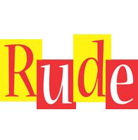 Rude errors logo