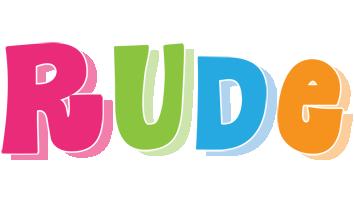 Rude friday logo