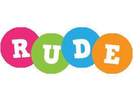 Rude friends logo