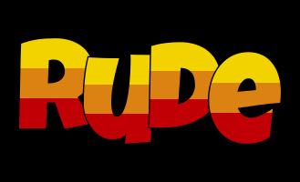 Rude jungle logo
