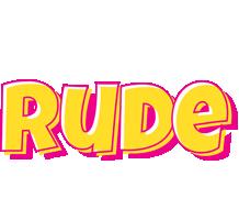 Rude kaboom logo