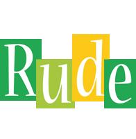 Rude lemonade logo