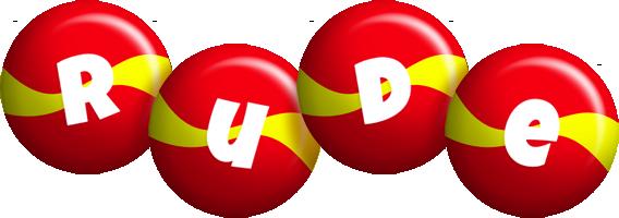 Rude spain logo