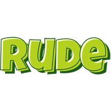Rude summer logo