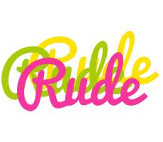 Rude sweets logo