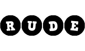 Rude tools logo