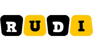 Rudi boots logo
