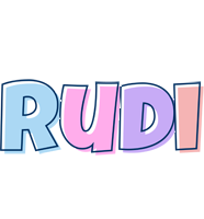 Rudi pastel logo