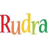 Rudra birthday logo