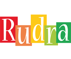 Rudra colors logo