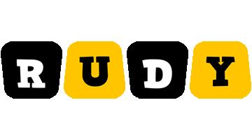 Rudy boots logo
