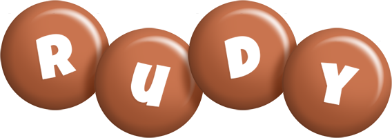 Rudy candy-brown logo
