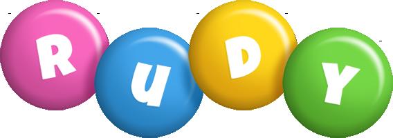 Rudy candy logo