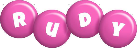Rudy candy-pink logo