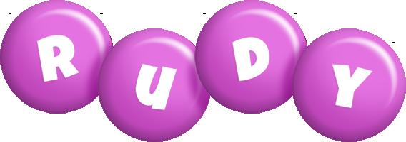 Rudy candy-purple logo